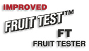 Improved Fruit Test FT Fruit Tester